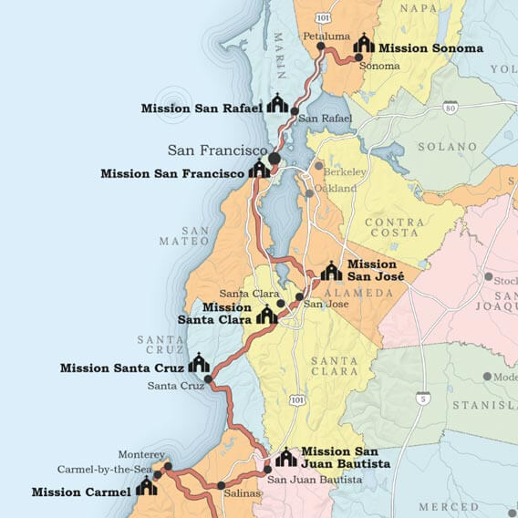 Maps for Santa Barbara County