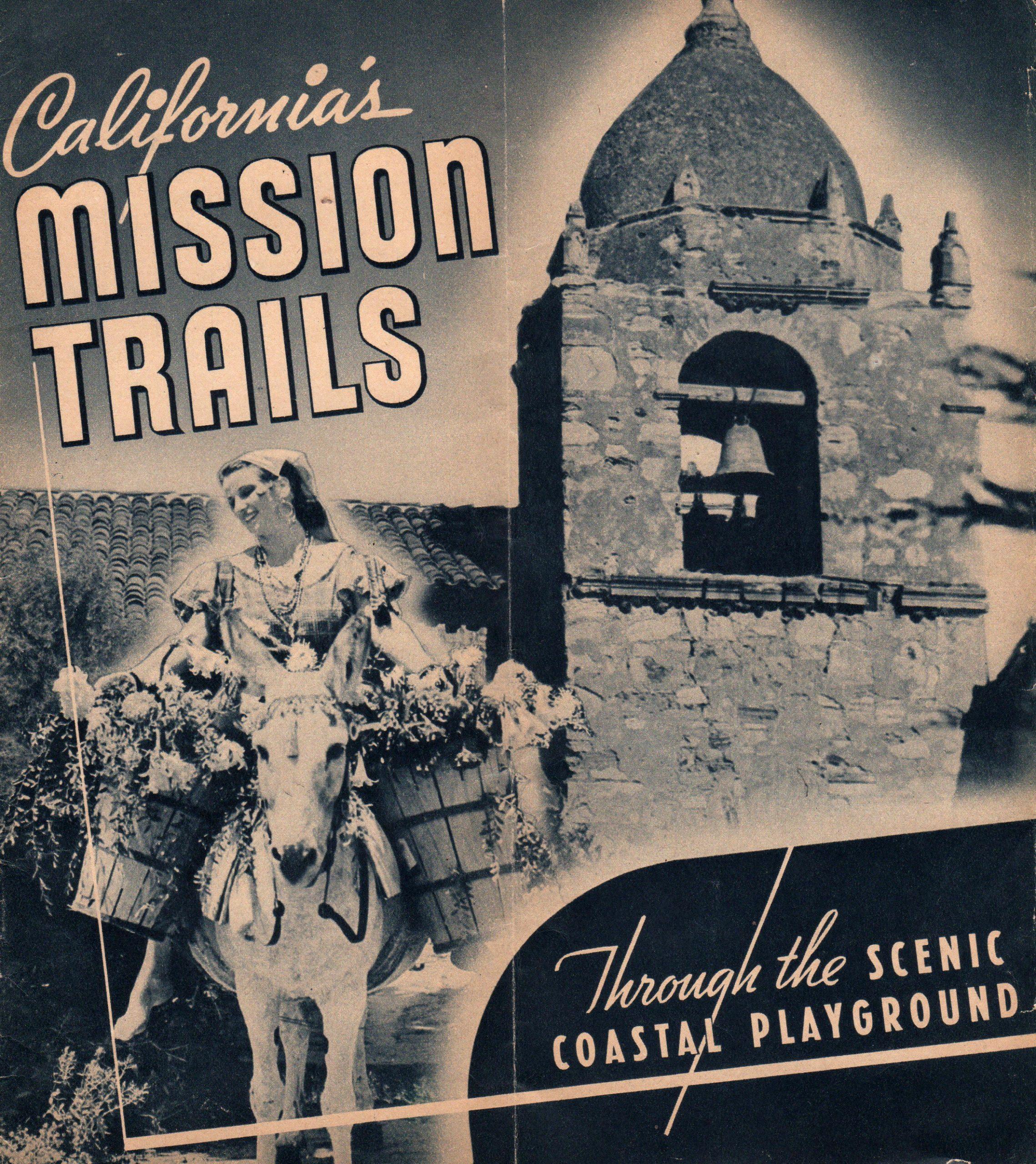 California Mission Trails Brochure