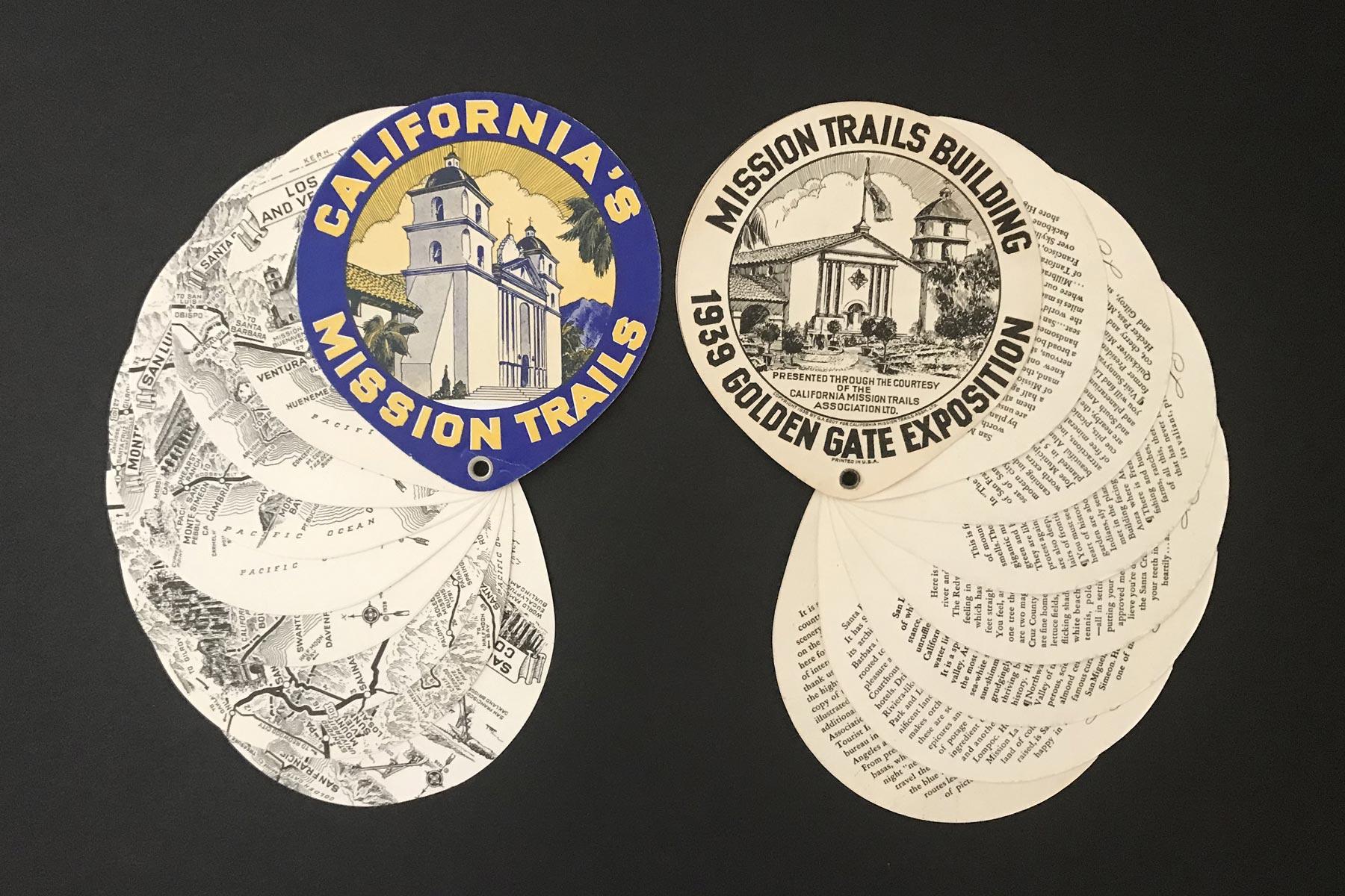 california mission trails maps
