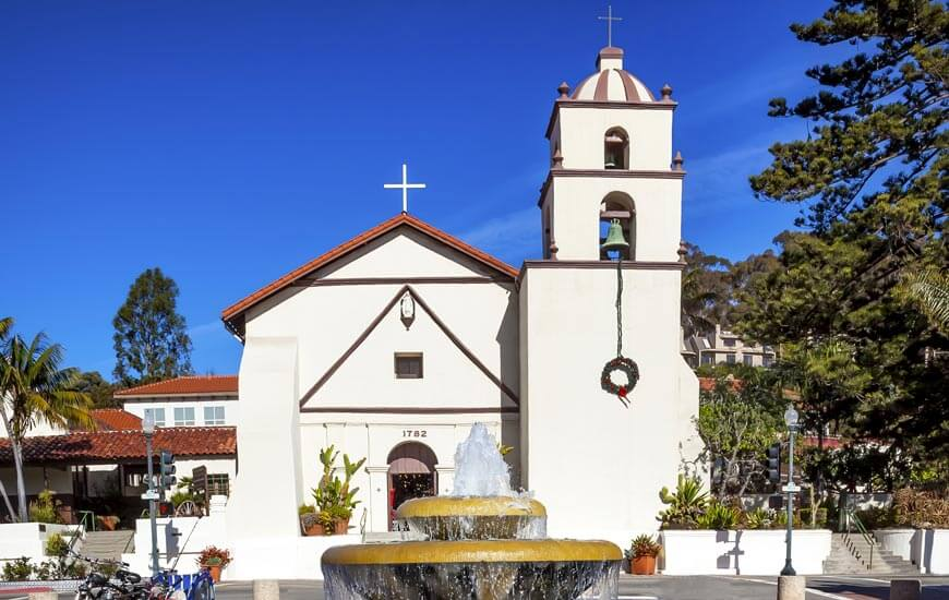 old mission san buenaventura basilica