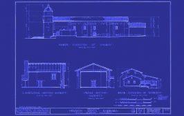 Santa Barbar Mission Blueprint
